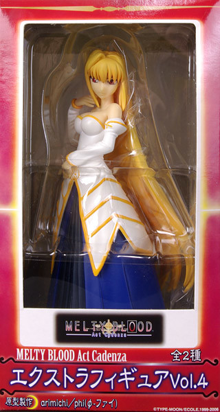 MELTY BLOOD Act Cadenza Extra Figure Vol.4 紅い月(アルクェイド) (景品)