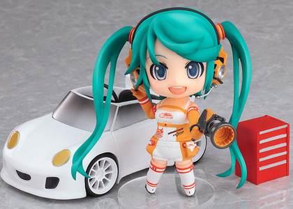 黏土人 #109a GOOD SMILE Racing&VOCALOID 初音未来 Racing 2010