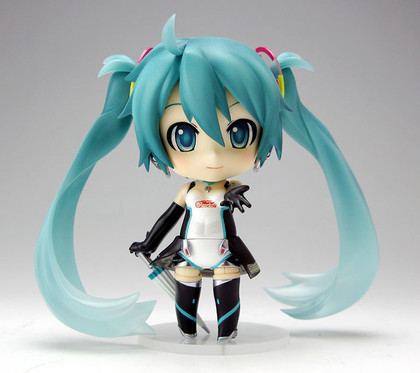 黏土人 #172a GOOD SMILE Racing&VOCALOID 初音未来 Racing 2011