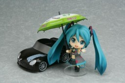 黏土人 #75 GOOD SMILE Racing&VOCALOID 初音未来 Black Ver.
