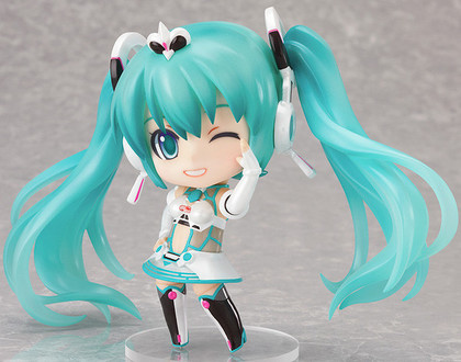 黏土人 #239 GOOD SMILE Racing&VOCALOID 初音未来 Racing 2012