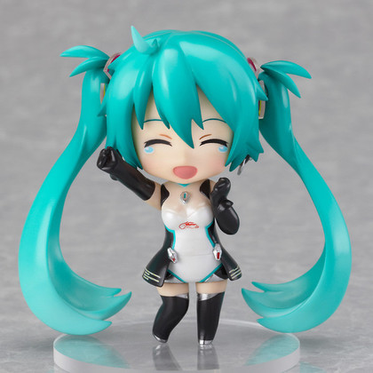 迷你黏土人 GOOD SMILE Racing&VOCALOID 初音未来 Racing 2011