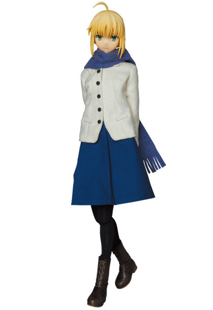 REAL ACTION HEROES #711 Fate/stay night [Unlimited Blade Works] SABER 私服 Ver.