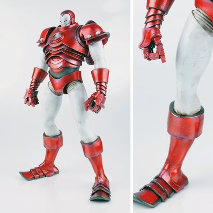 THE INVINCIBLE IRON MAN - SILVER CENTURION