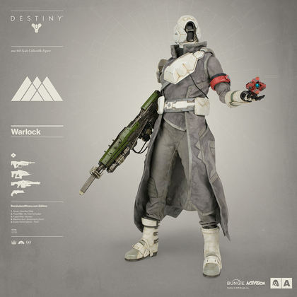DESTINY WARLOCK BAMBALAND STORE EXCLUSIVE EDITION