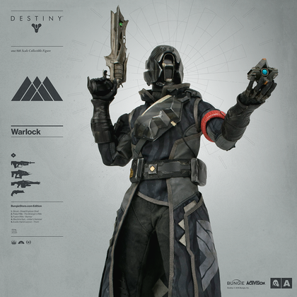 DESTINY WARLOCK BUNGIE STORE EXCLUSIVE EDITION