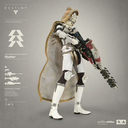 DESTINY HUNTER BAMBALAND STORE EXCLUSIVE EDITION