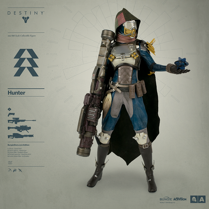 DESTINY HUNTER BUNGIE STORE EXCLUSIVE EDITION