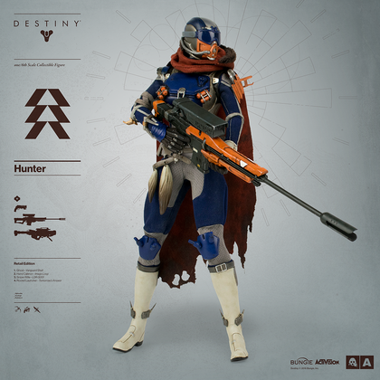 DESTINY HUNTER RETAIL EXCLUSIVE EDITION