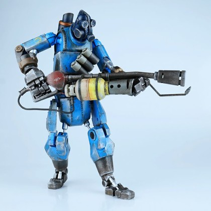 MANN VS MACHINE ROBOT PYRO BLUE