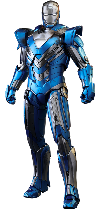 Iron Man Mark XXX – Blue Steel