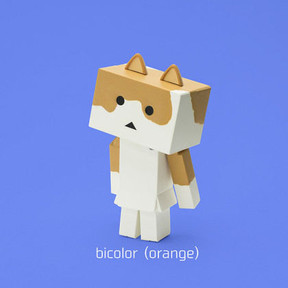 ニャンボー figure collection2 よつばと! 阿楞 Bicolor(orange)